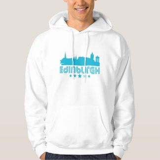 Retro Edinburgh Skyline Hoodie