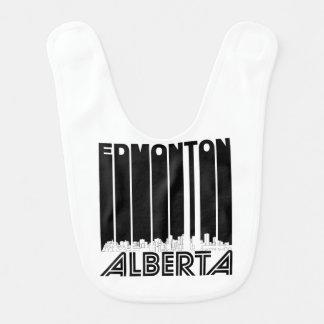 Retro Edmonton Alberta Canada Skyline Bib