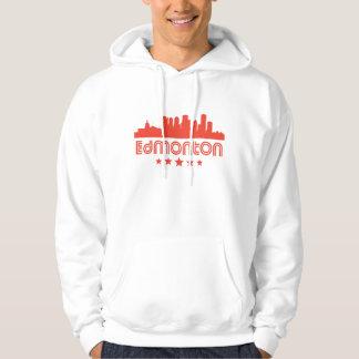 Retro Edmonton Skyline Hoodie