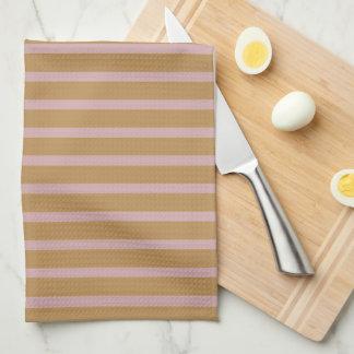 Retro Elegant Striped Layout Kitchen Towel