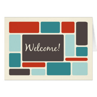 Retro Employee Welcome to the Team Card