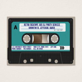 Rétro enregistreur à cassettes 80s cartes de visite