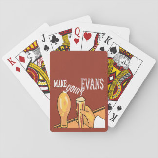 Retro Evans Ale Playing Cards Deck