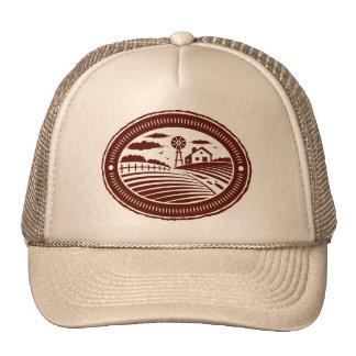 Retro Farm Shield Trucker Hat