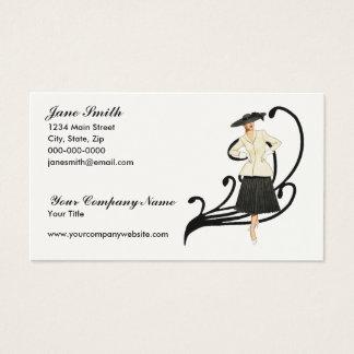 Retro Fashion Business Card