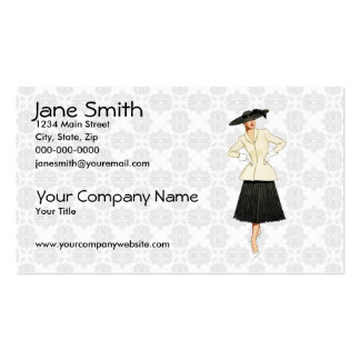 Retro Fashion Pack Of Standard Business Cards
