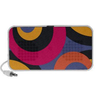 Retro Fifties Abstract Art Portable Speaker
