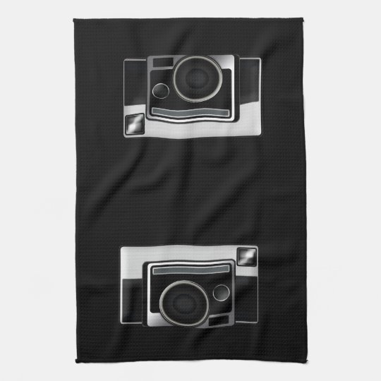 Retro Film Camera Kitchen Towel