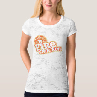 Retro Firecracker July 4 T-Shirt