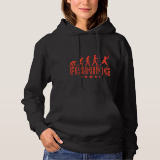 Retro Fishing Evolution Hoodie