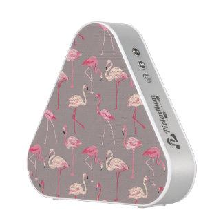 Retro Flamingos Blueooth Speaker