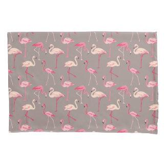 Retro Flamingos Pillowcase