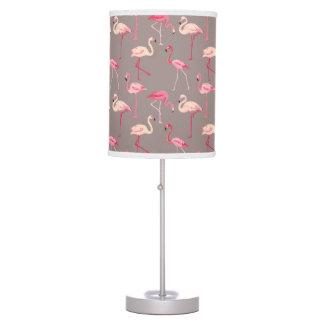 Retro Flamingos Table Lamp
