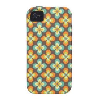 Retro Floral iPhone 4/4S case