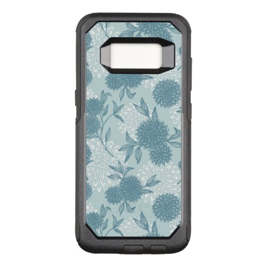 Retro Floral Pattern 2 2 OtterBox Commuter Samsung Galaxy S8 Case