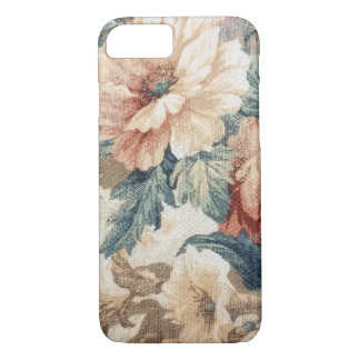 retro floral pattern iPhone 7 case