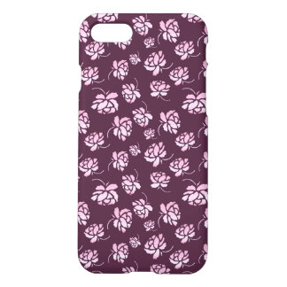 Retro floral pattern with roses. iPhone 8/7 case