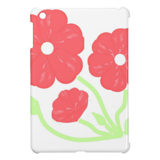 Retro Floral Pink iPad Mini Cover