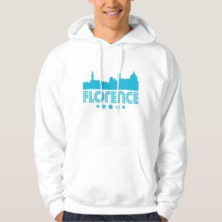 Retro Florence Skyline Hoodie