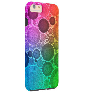 Retro Florescent Pattern Tough iPhone 6 Plus Case