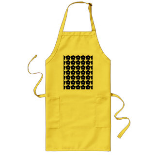 Retro Flower BBQ Apron