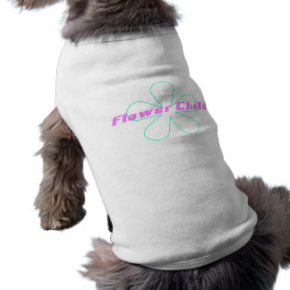 Retro Flower Child Dog Shirt