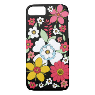 Retro Flower iPhone 7 Case