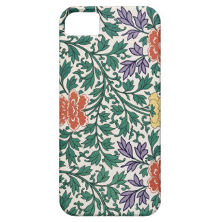 Retro Flower Pattern iPhone 5 Case