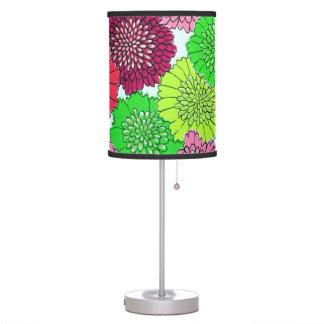 RETRO FLOWER TABLE LAMP
