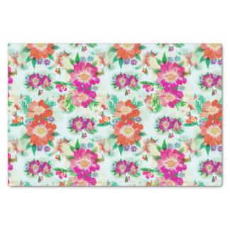 Retro Flower Tissue Paper