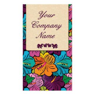 Retro / flowery Design Business Card