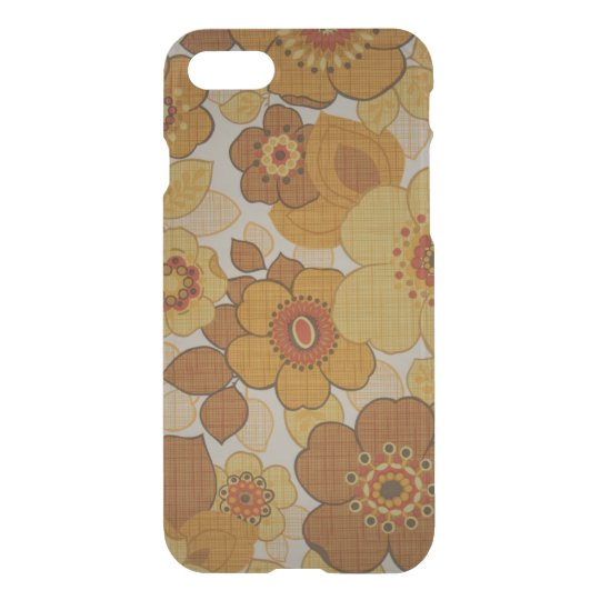 Retro Flowery iPhone 7 Case