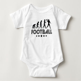 Retro Football Evolution Baby Bodysuit