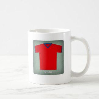 Retro Football Jersey Chile Coffee Mug