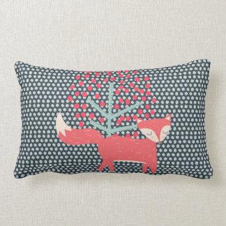 Retro Fox Lumbar Pillow