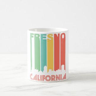 Retro Fresno Skyline Coffee Mug