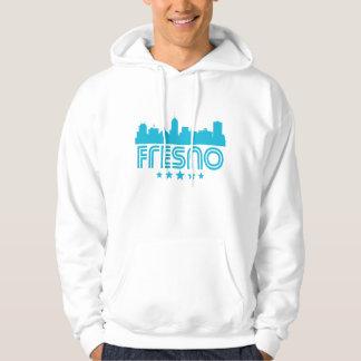 Retro Fresno Skyline Hoodie