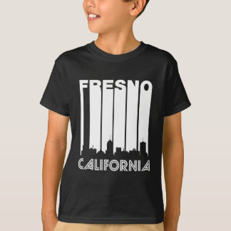 Retro Fresno Skyline T-Shirt