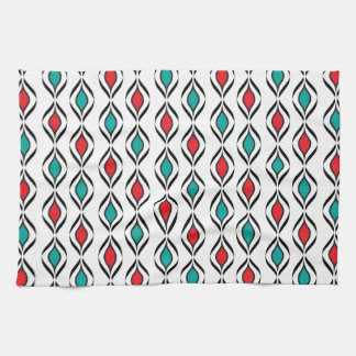 Retro Fun Patterns Kitchen Towel