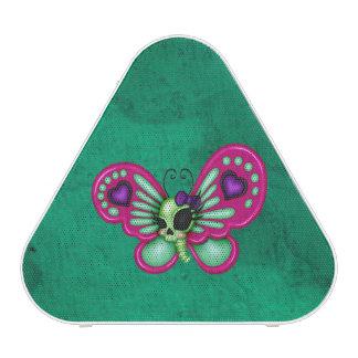 Retro Fun Zombie Butterfly Blueooth Speaker