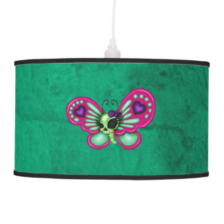 Retro Fun Zombie Butterfly Ceiling Lamp