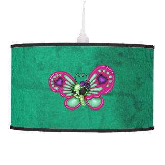 Retro Fun Zombie Butterfly Pendant Lamp