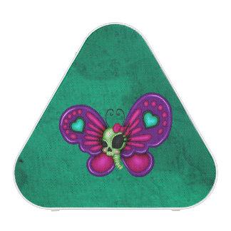 Retro Fun Zombie Butterfly Speaker
