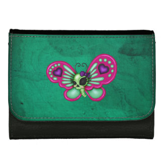 Retro Fun Zombie Butterfly Women's Wallet