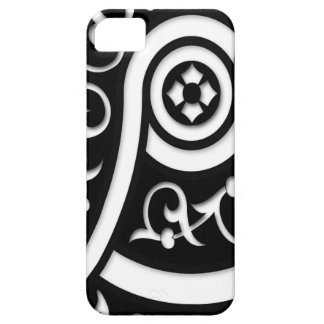 Retro Funky Black and White Design iPhone 5 Covers