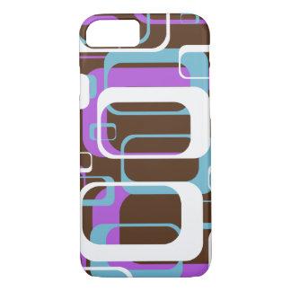 Retro Funky Cool Geometric Squares iPhone 7 Case