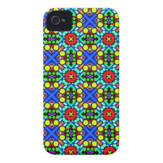 retro funky pattern iPhone 4 cover