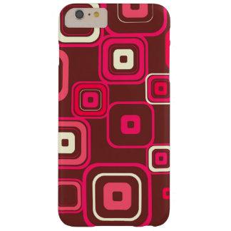 Retro Funky Square Design Barely There iPhone 6 Plus Case