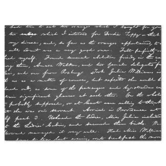 Retro Funky Trendy Pattern Chalkboard Tissue Paper