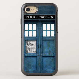 Retro Funny Police Phone Call Box OtterBox Symmetry iPhone 8/7 Case